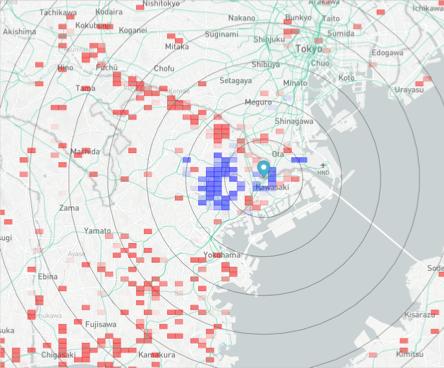 川崎駅前店舗の戦略マップ