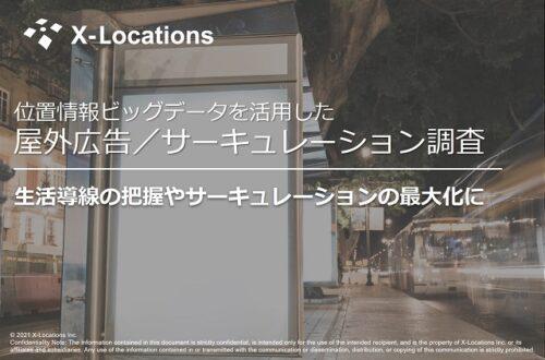 屋外広告サーキュレーション調査サービス資料